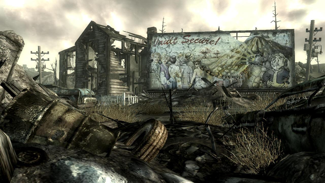 Ляпы в Fallout 3