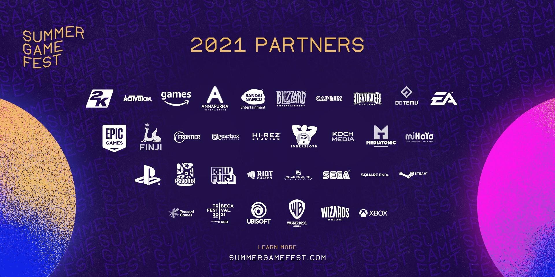 Напоминалка: сегодня в 21:00 МСК пройдет презентация Summer Game Fest