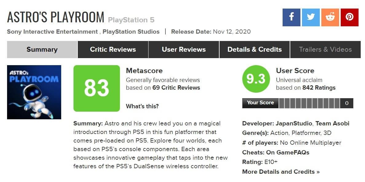 Sony объявила, что Team Asobi теперь не просто команда, а полноценная студия в составе PlayStation Studious