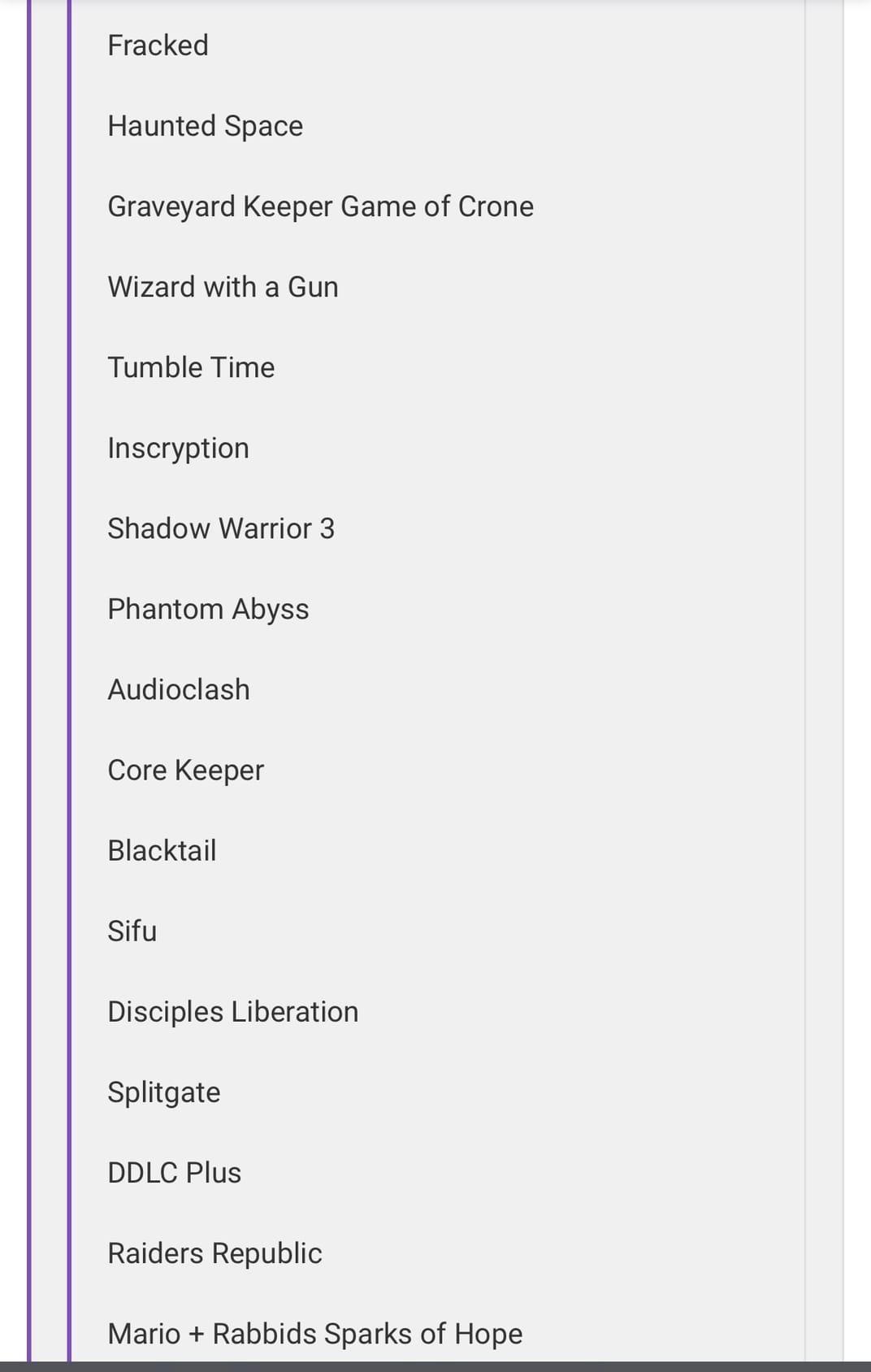 Тут слили большой список игр, которые покажут на E3 2021
