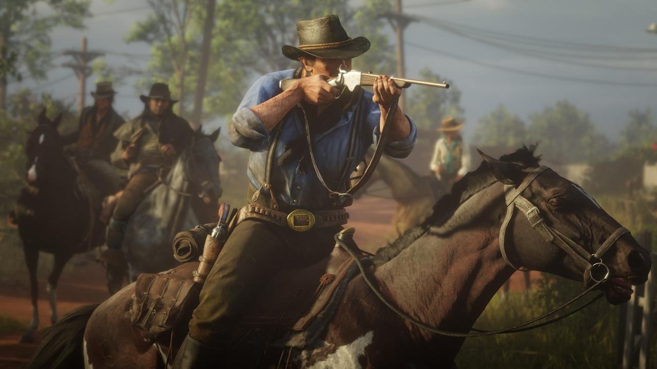 Дена Хаузера хвастался тем, что его подчиненные трудились над Red Dead Redemption 2 по 100 часов в неделю