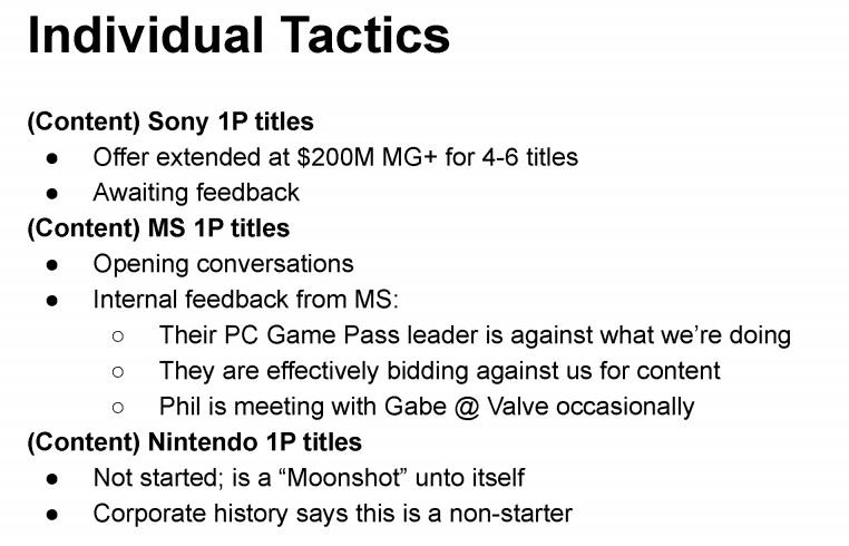 Epic Games предлагала Sony 200 миллионов долларов за релиз 4-6 игр компании в Epic Games Store