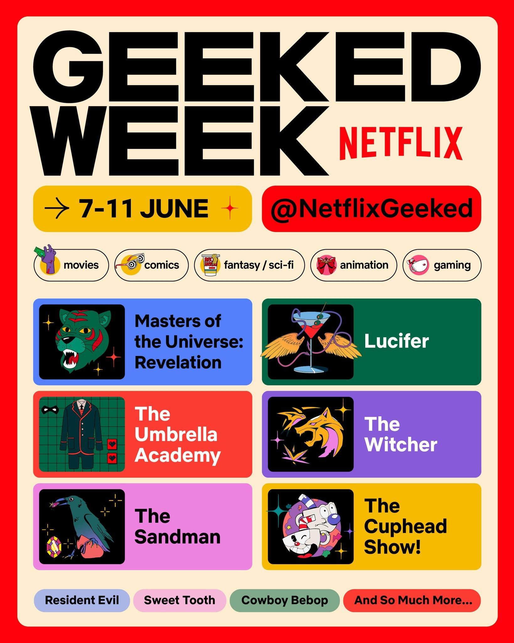 Netflix 11 июня 19:00 МСК проведет специальную трансляцию, посвященную проектам, связанных с играми