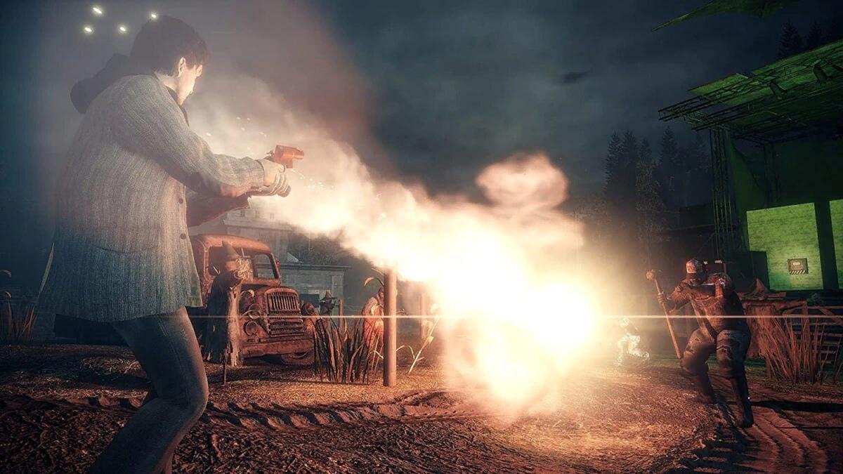 В ремастере Alan Wake не будет рекламы, как в оригинальной игре