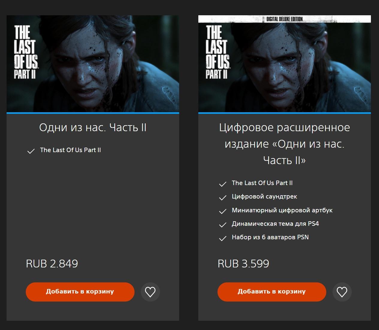 Вслед за американским в европейском PS Store, включая Россию, снизилась цена на The Last of Us Part 2