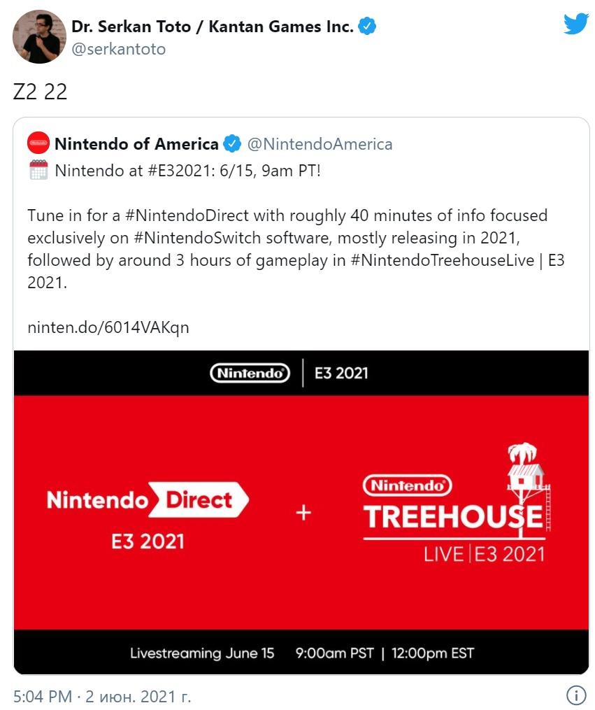 Инсайдер Zippo, специализирующий на Nintendo, рассказал, что The Legend of Zelda: Breath of the Wild 2 выйдет в 2022 году