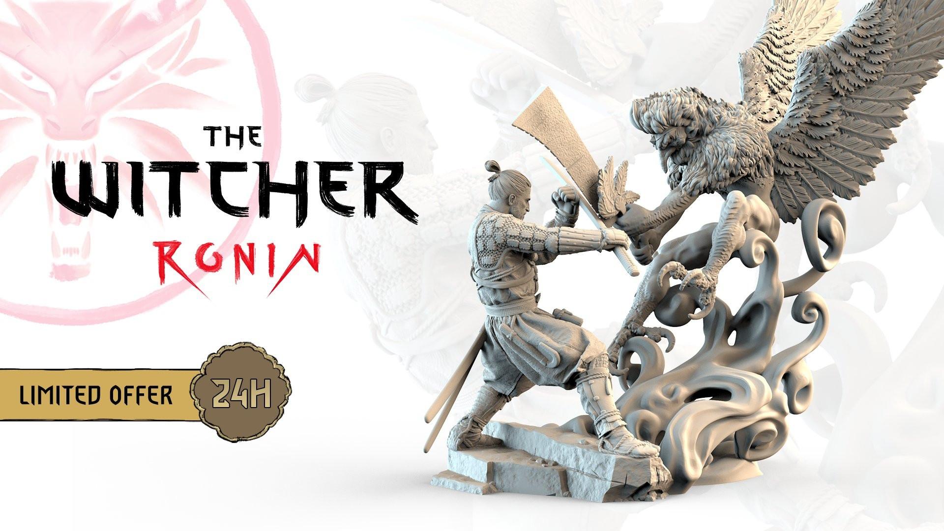 CDPR анонсировала сбор средств на мангу The Witcher: Ronin.