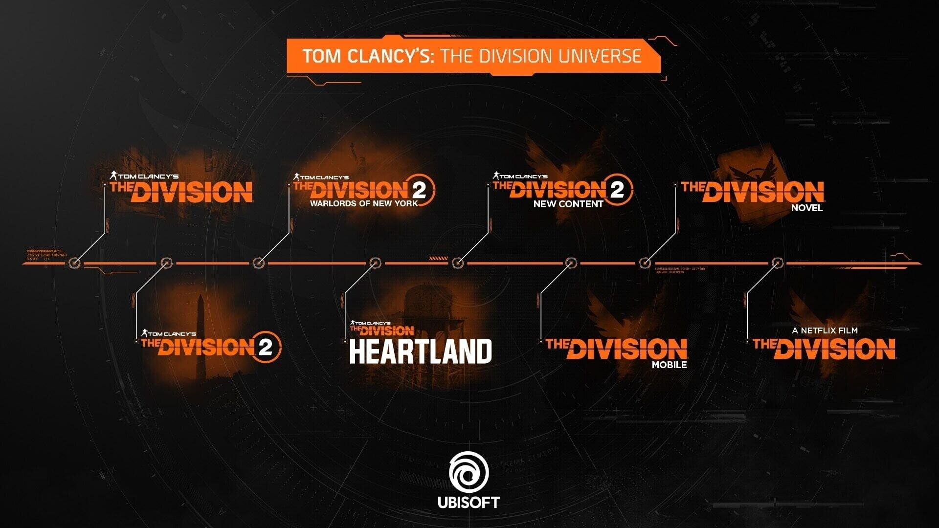 Ubisoft сообщила о масштабном расширении вселенной The Division