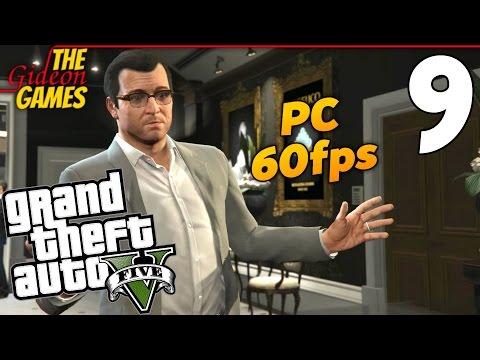Прохождение GTA 5 с Русской озвучкой (Grand Theft Auto V)PС60fps - Часть 9 (Обручальное колечко)