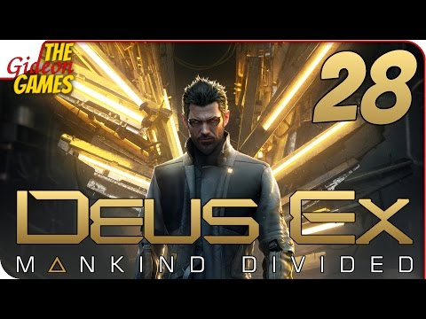 Прохождение Deus Ex: Mankind Divided 28  АГЕНТ К