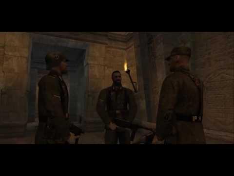 Wolfenstein: Return to Castle - Мрачная тайна. Катакомбы. Трейлер.