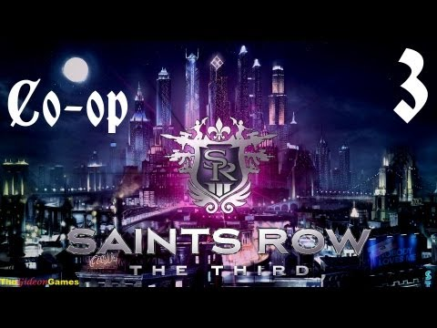 Прохождение Saints Row 3: The Third. Co-op: Gideon  Guinea Pig — Часть 3 (Наркомандия)