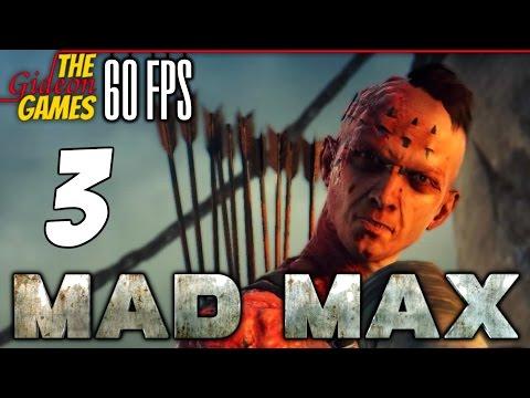 Прохождение Mad Max на Русском (Безумный Макс)PС60fps - 3 (Осквернители храма)