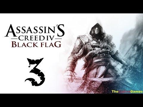 Прохождение Assassin's Creed 4 IV:Black Flag Чрный флаг HD 100% Sync - Часть 3 (Господин Уолпол?)