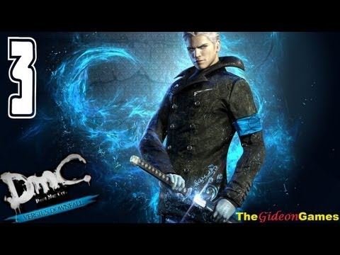 Прохождение DmC: Devil May Cry - Vergil's Downfall (HD) 2013 - Миссия 3 (Борьба за власть)