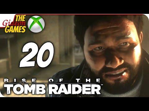 Прохождение Rise of the Tomb Raider на Русском XBOne - 20 (Логика, где ты?)
