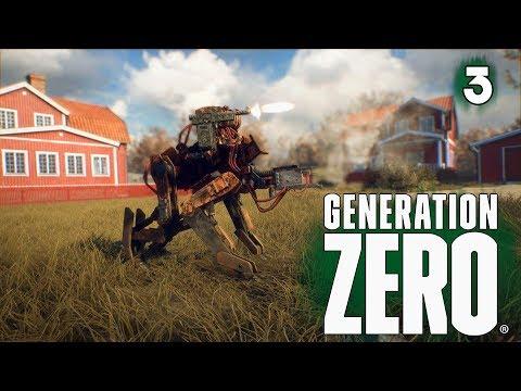 Generation Zero Прохождение игры на русском  ➤ Выживание в открытом мире ➤Стрим игры — Часть 3