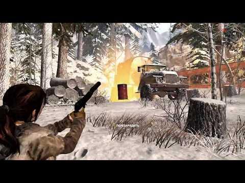"""Испытание """"Выжженая земля"""". Уничтожить топливные баки. Испытания. - Rise of the Tomb Raider"""