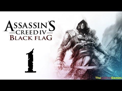 Прохождение Assassin's Creed IV 4: Black Flag Чрный флаг 100% Sync - Часть 1 (Ожившая история!)