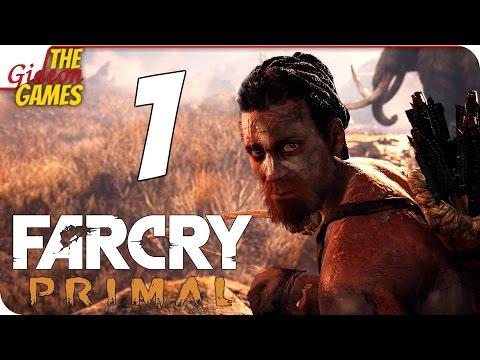 Прохождение Far Cry: Primal на Русском PС60fps - 1 (Ну и дичь!)