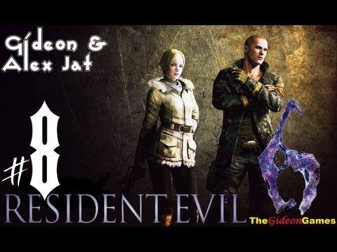 Прохождение Resident Evil 6: Джейк. Co-op: Gideon Alex Jat - Часть 8 (Подводный комплекс)