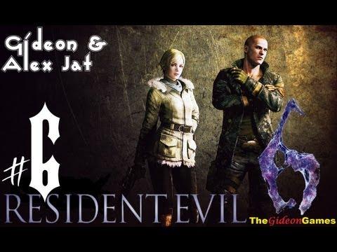 Прохождение Resident Evil 6: Джейк. Co-op: Gideon Alex Jat - Часть 6 (Погоня!)