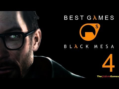 Best Games: Прохождение Black Mesa Half-Life (HD) - Часть 4 (Видим противника!)