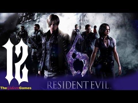 Прохождение Resident Evil 6: Леон - Часть 12 (T-Rex)