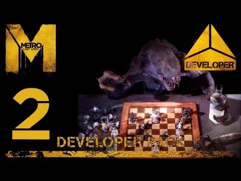 Прохождение Metro: Last Light DLC: Developer Pack (HD 1080p) - Часть 2: Музей