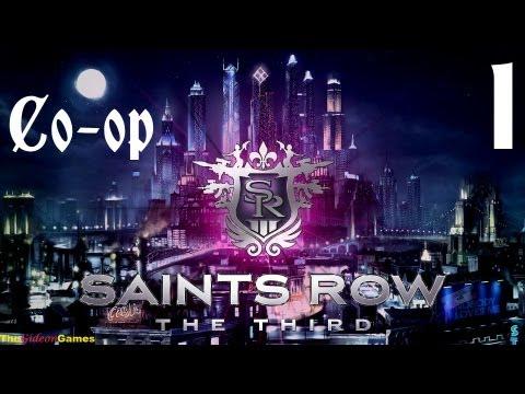 Прохождение Saints Row 3: The Third. Co-op: Gideon Guinea Pig - Часть 1 (PayDay отдыхает!)