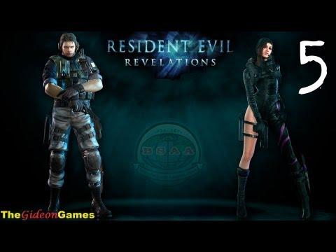 """Прохождение Resident Evil: Revelations HD - 5 (Эпизод 3: """"Призраки Вельтро"""". Часть 2)"""