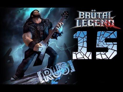 Walk: Прохождение Brutal Legend - Часть 15 (К морю) RUS Subs