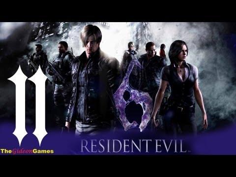 Прохождение Resident Evil 6: Леон - Часть 11 (Пушок)