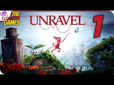 Прохождение Unravel Вязаная милота 1 (Вебка)