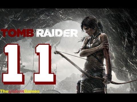 Прохождение Tomb Raider на Русском (2013) - Часть 11 (Ну и заварушка!)