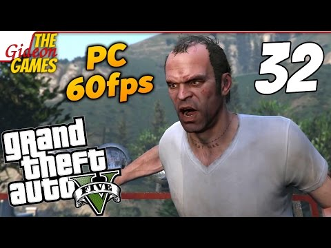 Прохождение GTA 5 с Русской озвучкой (Grand Theft Auto V)PС60fps — 32 (Влюблнный Тревор)