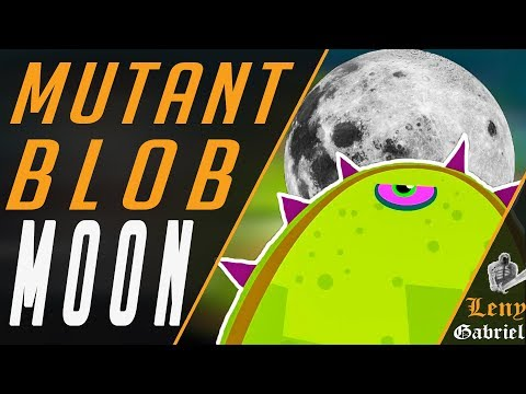 Tales from Space — Mutant Blobs Attack — level 10 Moon (Луна). Симулятор слизня
