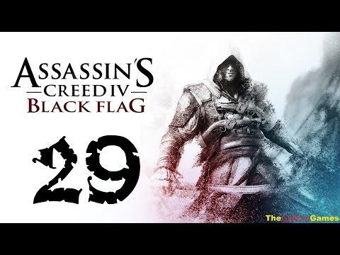 Прохождение Assassin's Creed 4 IV: Black Flag Чрный флаг HD 100% Sync - Часть 29 (Плутовка)