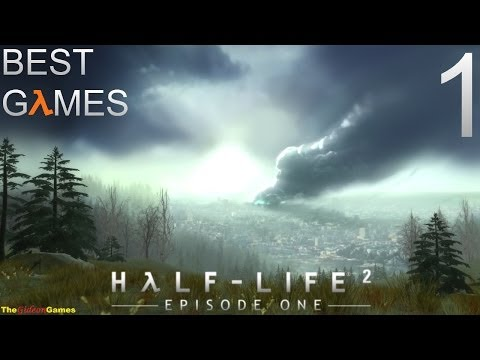 Best Games: Прохождение Half-Life 2 - Episode One (HD) - Часть 1 (Излишняя тревога)