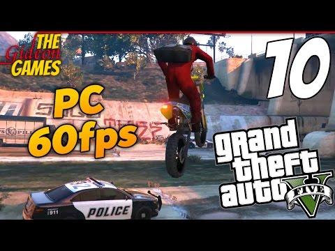 Прохождение GTA 5 с Русской озвучкой (Grand Theft Auto V)PС60fps - Часть 10 (Налт на ювелирный)
