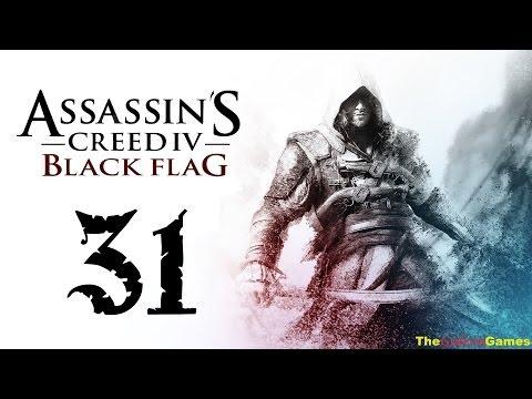 Прохождение Assassin's Creed 4 IV: Black Flag Чрный флаг 100% Sync - Часть 31 (Конец губернатору)