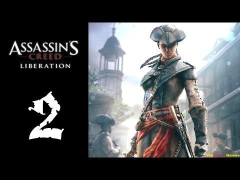 Прохождение Assassin's Creed: Liberation HD 100% Синхро. - Часть 2 (Верный слуга)