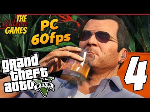 Прохождение GTA 5 с Русской озвучкой (Grand Theft Auto V)PС60fps - Часть 4 (На пенсии)