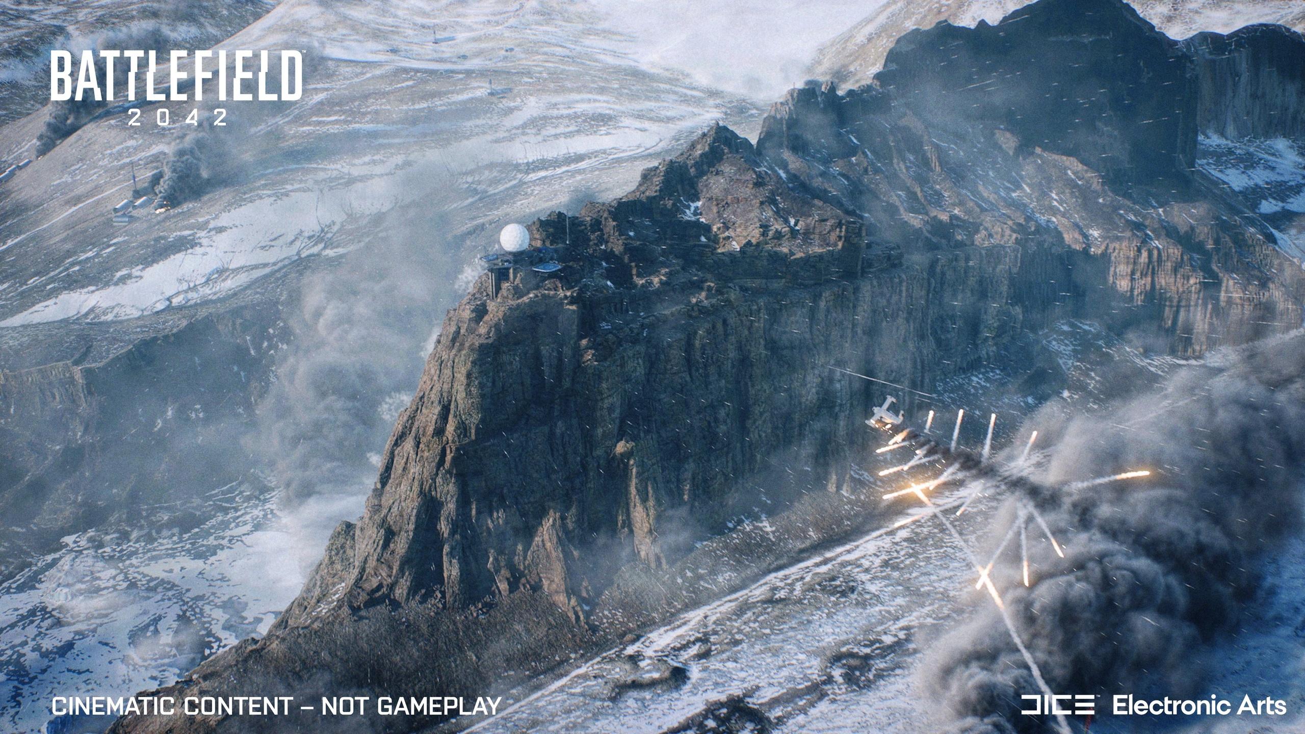 EA сравнила размеры карт в Battlefield 2042 с размерами карт из прошлых частей (1 картинка)