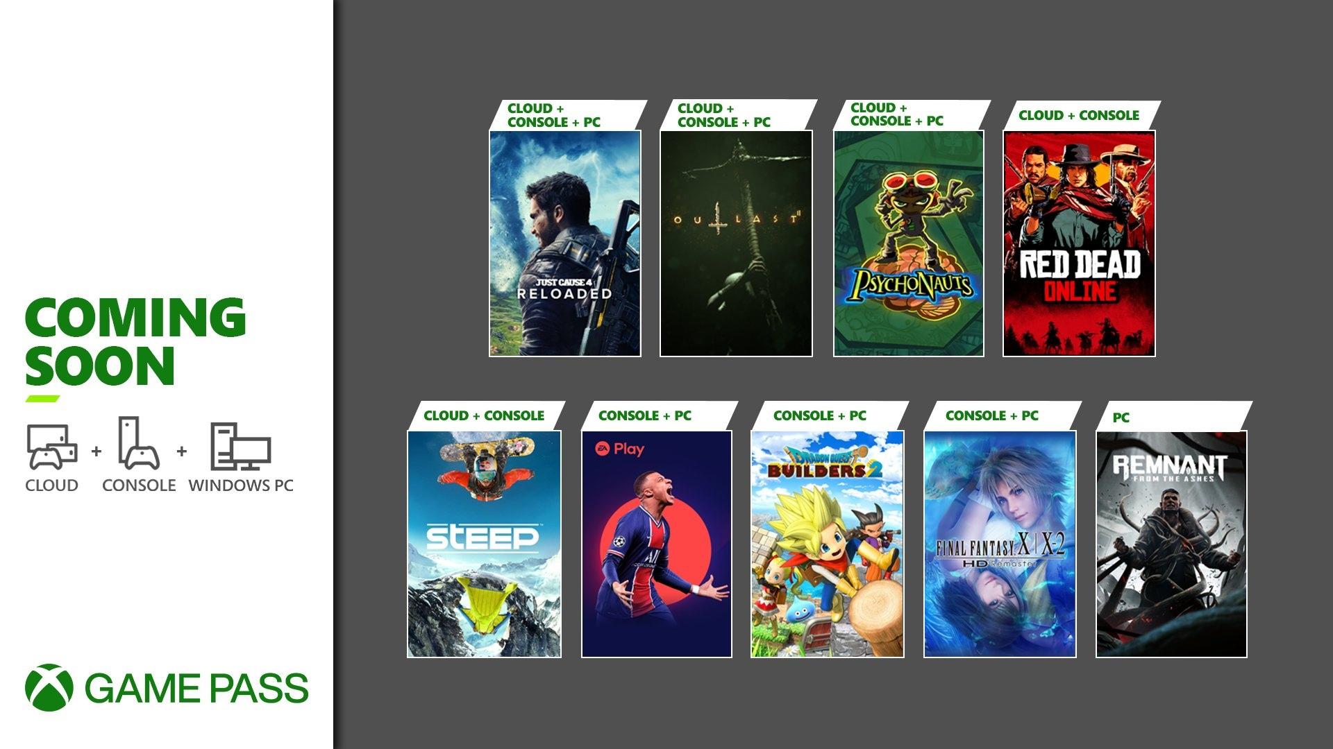 Новые игры по подписке Xbox Game Pass