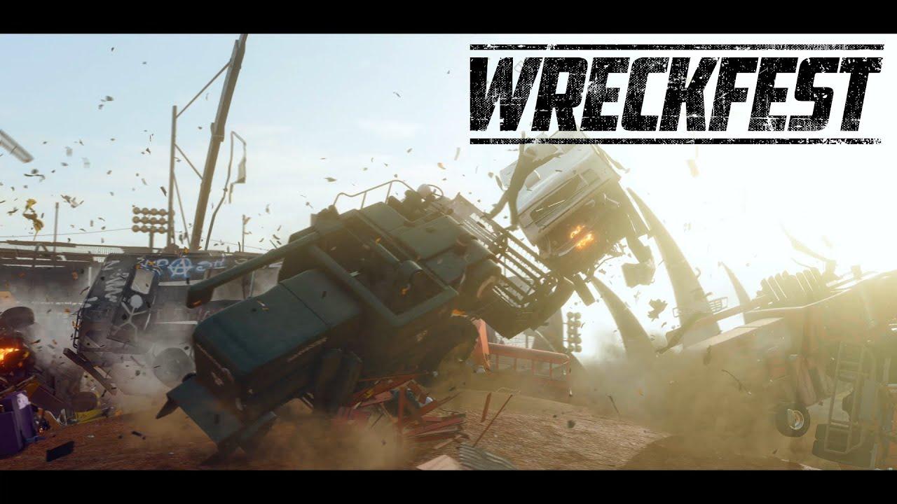 Трейлер улучшенной версии Wreckfest на PS5 от создателей первых Flatout