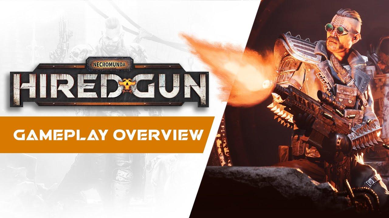 Создатели Necromunda: Hired Gun рассказали об особенностях игры в новом трейлере
