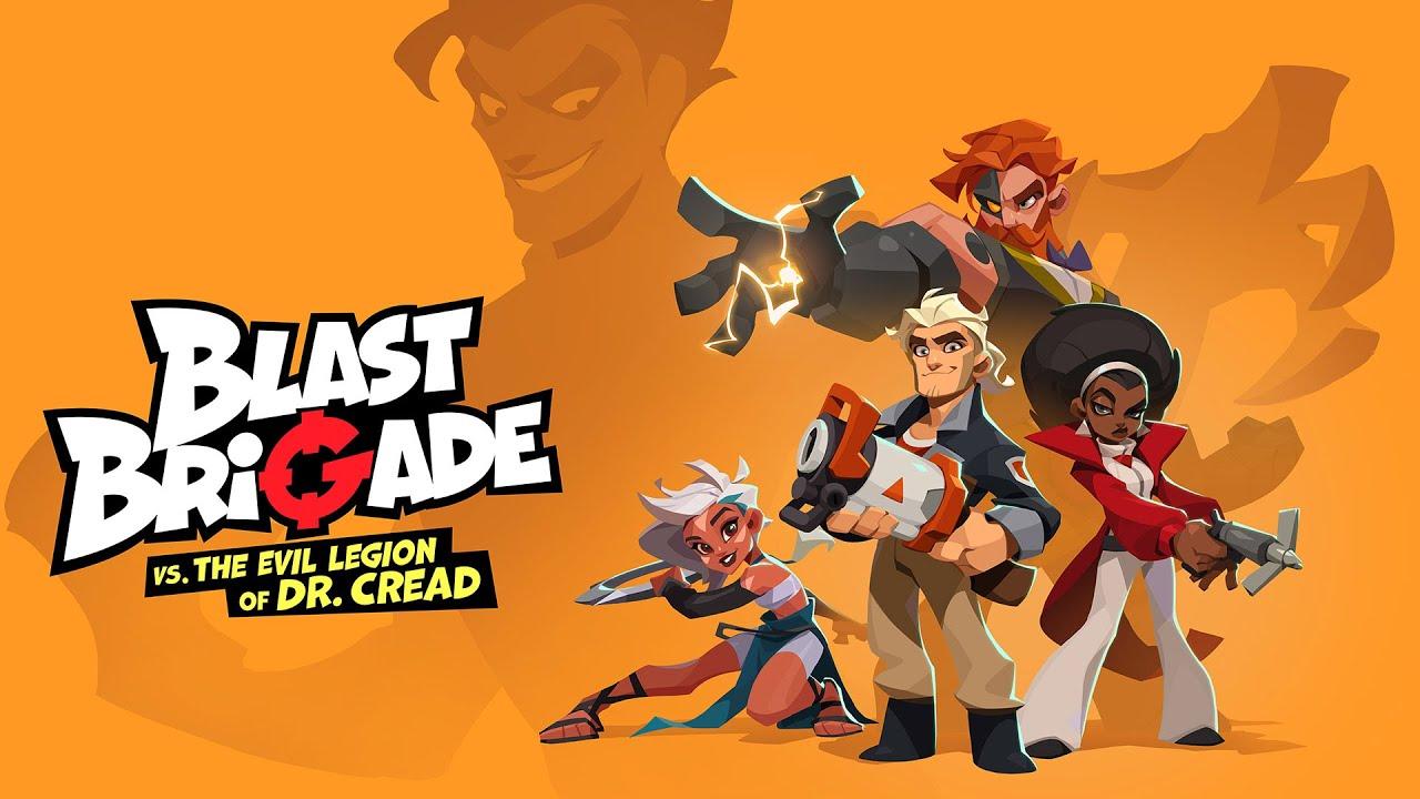 Анонсирован приключенческий 2D-экшен Blast Brigade vs. the Evil Legion of Dr. Cread