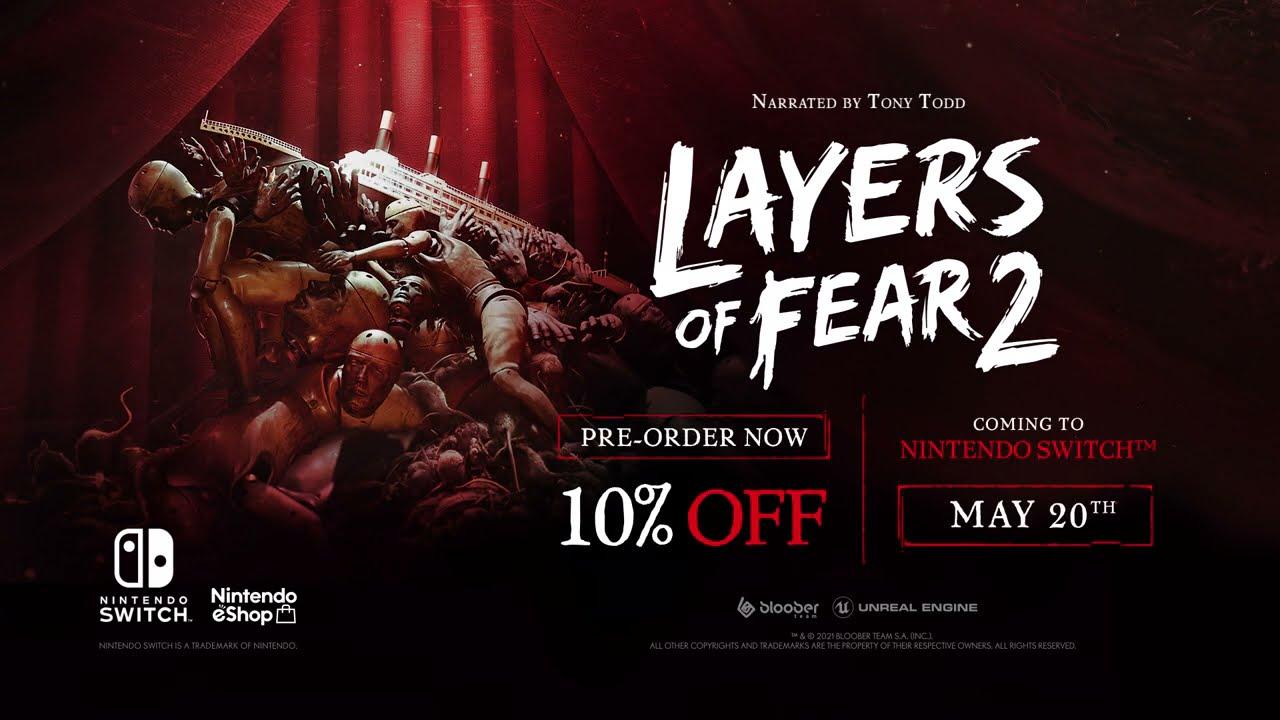 Layers of Fear 2 доберётся до Nintendo Switch спустя два года после выхода
