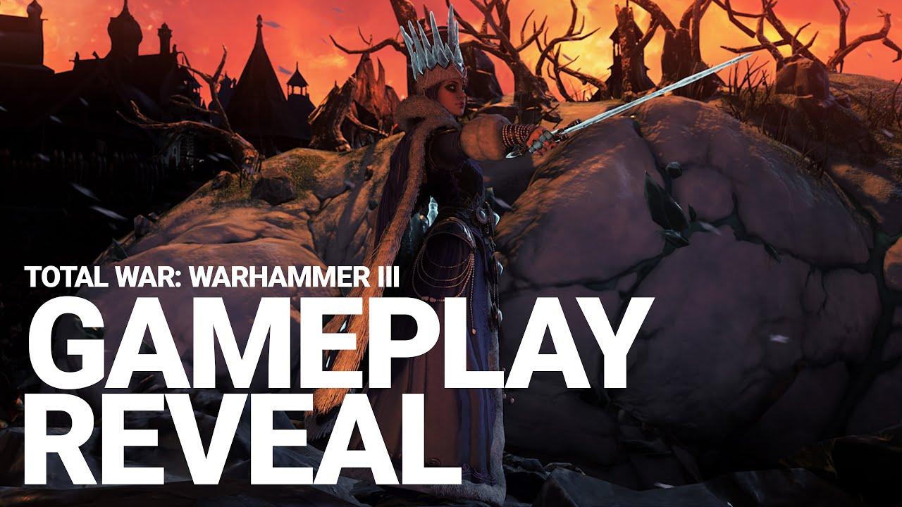 Creative Assembly впервые показала геймплей Total War: Warhammer III